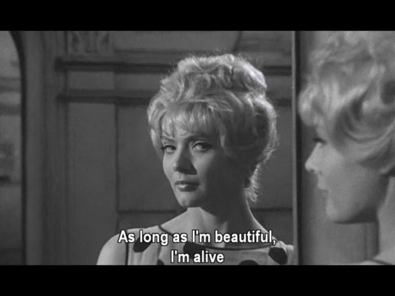 As long as I'm beautiful I'm alive